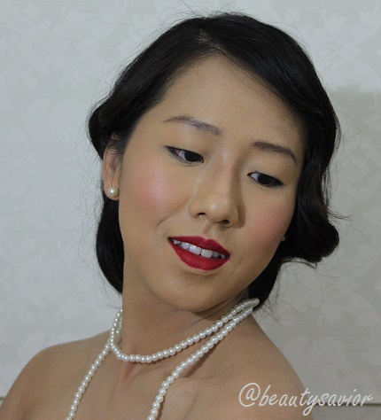 1930 Shanghai Woman Makeup